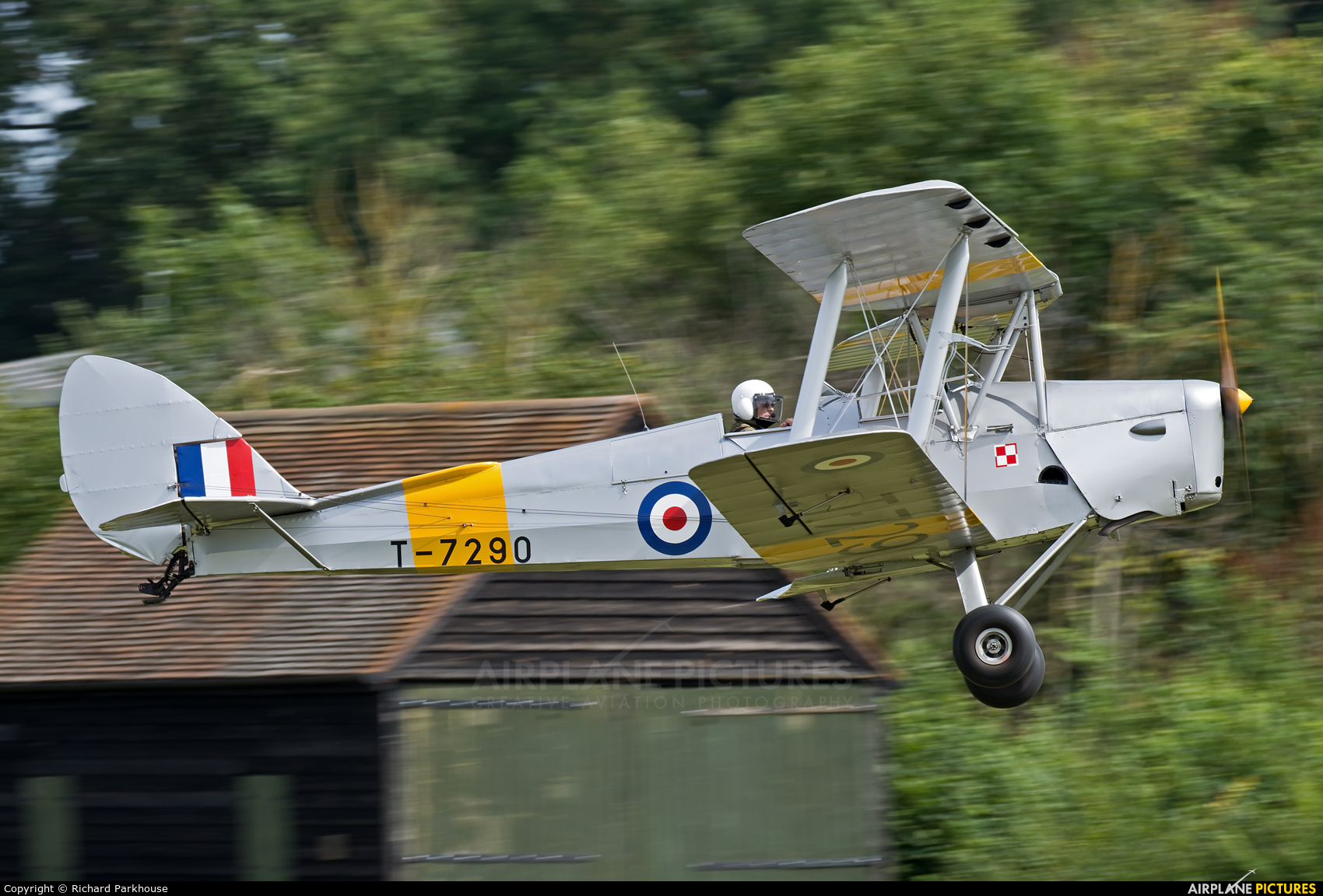 Private G-ANNK aircraft at Old Warden
