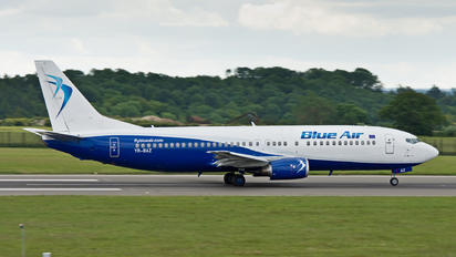 YR-BAZ - Blue Air Boeing 737-400