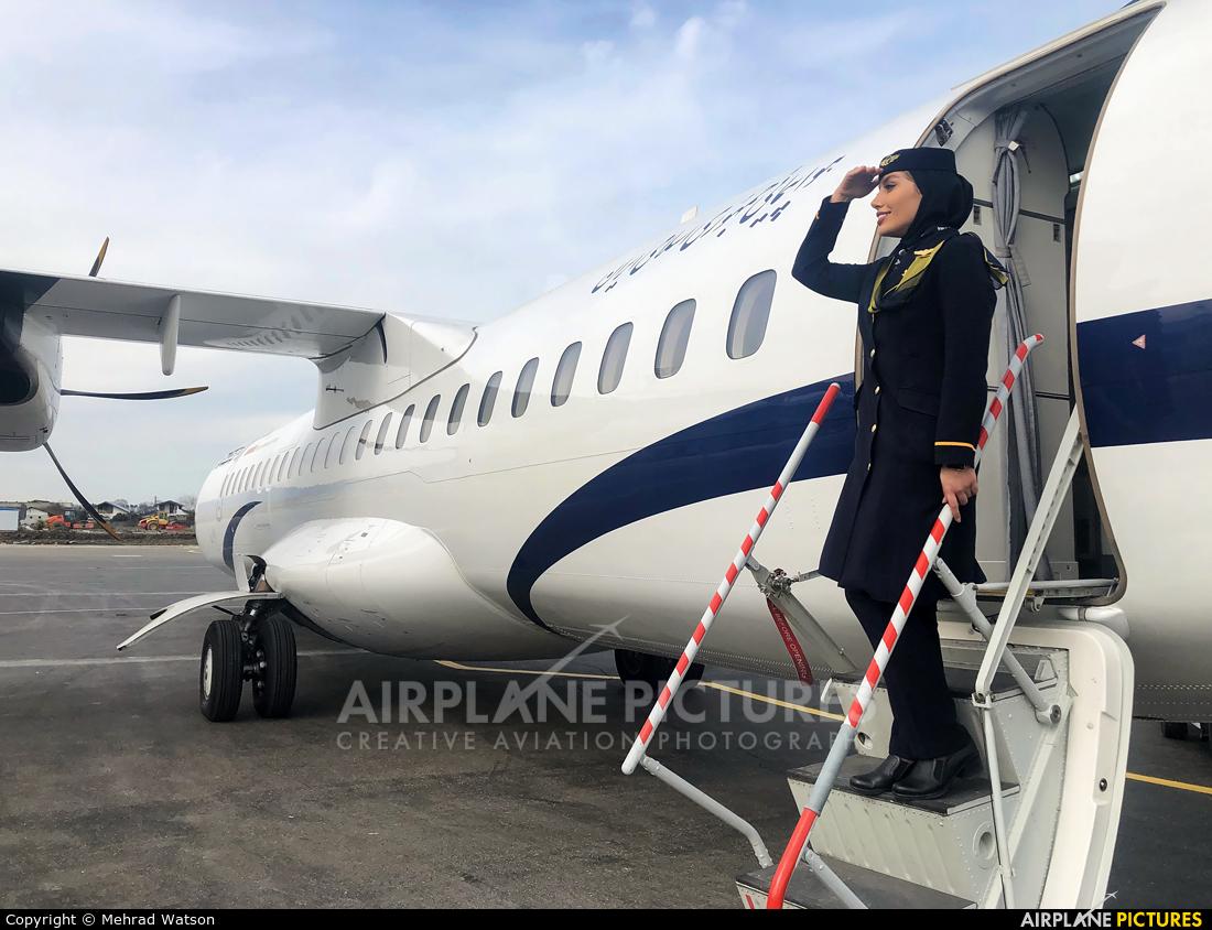 Iran Air EP-ITJ aircraft at Ramsar International