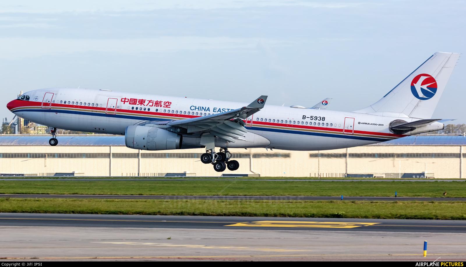 China Eastern Airlines B-5938 aircraft at Prague - Václav Havel