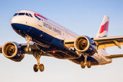 G-TTNH - British Airways Airbus A320 NEO aircraft