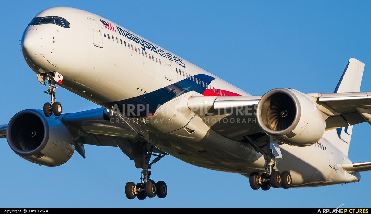 Malaysia Airlines 9M-MAE aircraft at London - Heathrow