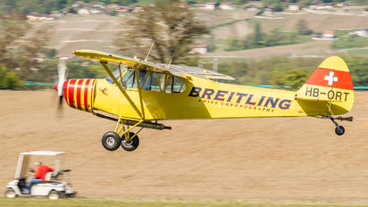 HB-ORT - Private Piper PA-18 Super Cub