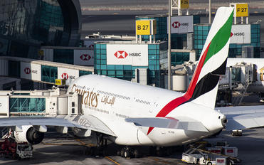 A6-EDP - Emirates Airlines Airbus A380
