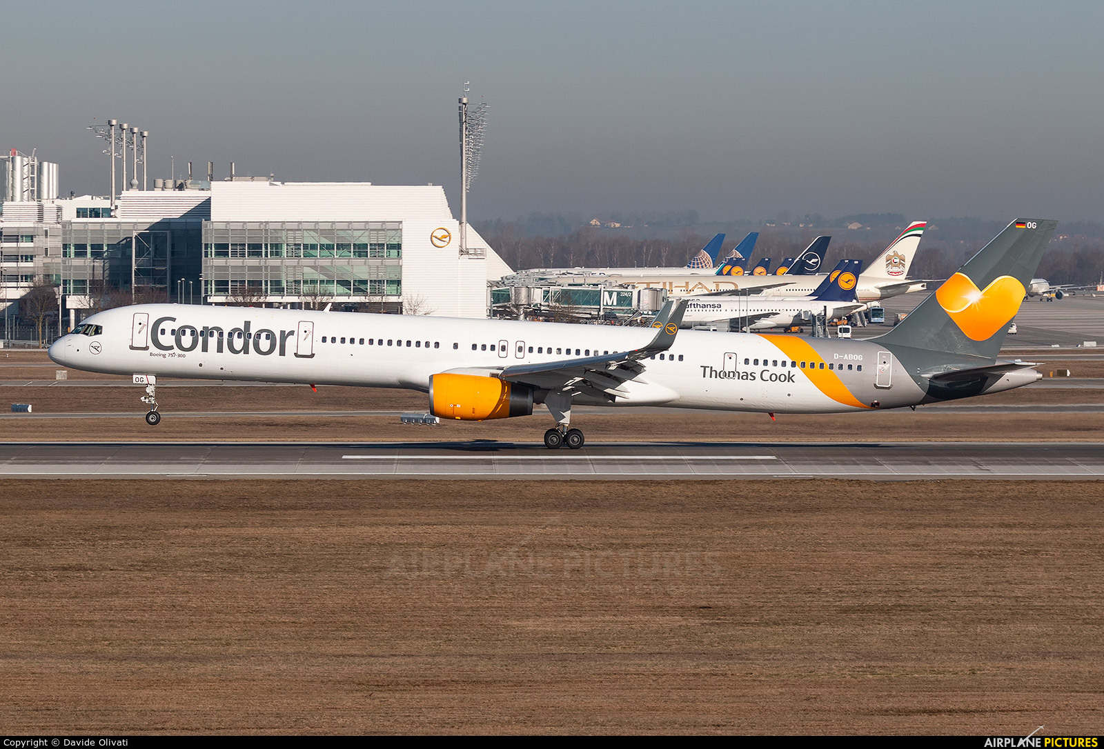 Condor D-ABOG aircraft at Munich