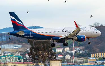 VQ-BSL - Aeroflot Airbus A320