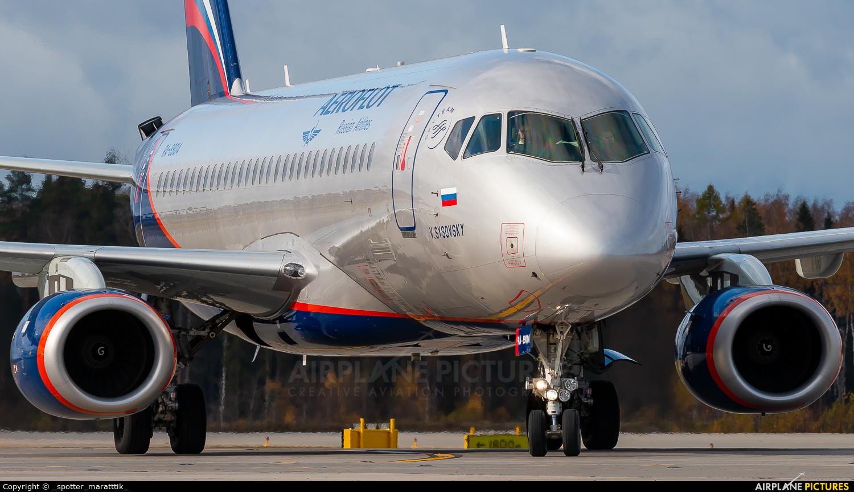 Aeroflot RA-89014 aircraft at Moscow - Sheremetyevo