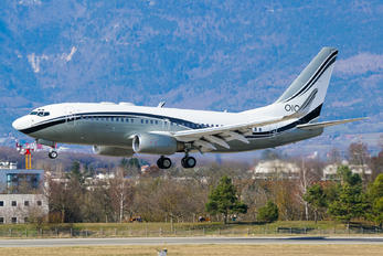 P4-ACC - Private Boeing 737-700 BBJ