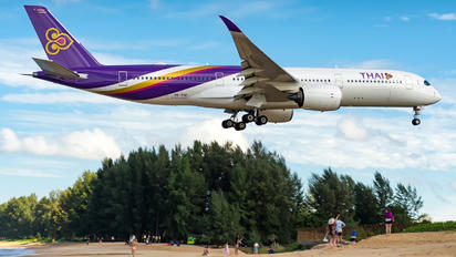 HS-THC - Thai Airways Airbus A350-900