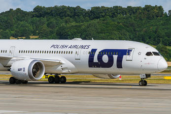 SP-LSB - LOT - Polish Airlines Boeing 787-9 Dreamliner