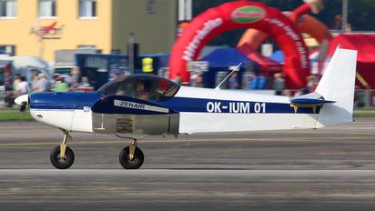 OK-IUM 01 - Private Zenith - Zenair CH 601 Zodiac