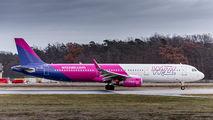 HA-LXH - Wizz Air Airbus A321 aircraft