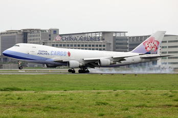 B-18725 - China Airlines Cargo Boeing 747-400F, ERF