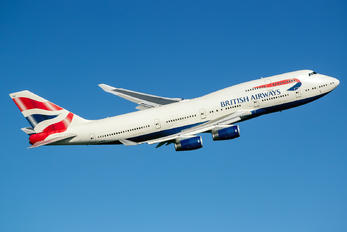 G-BYGF - British Airways Boeing 747-400