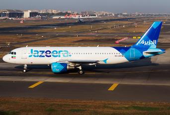 9K-CAP - Jazeera Airways Airbus A320