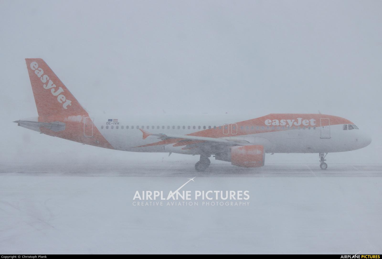 easyJet Europe OE-IVH aircraft at Innsbruck