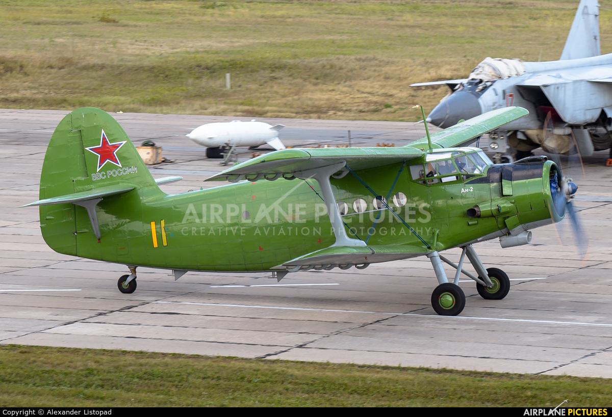 Russia - Air Force 11 YELLOW aircraft at Novosibirsk