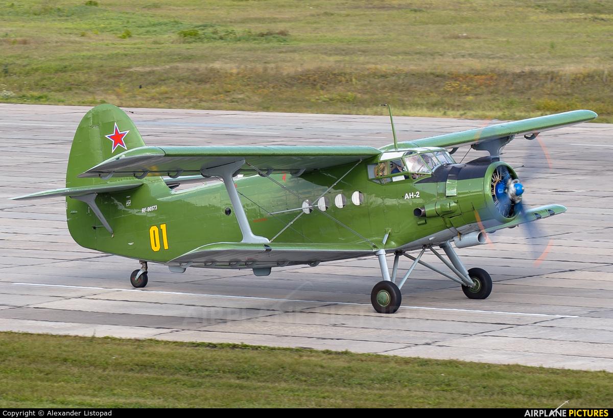 Russia - Air Force RF-90573 aircraft at Novosibirsk