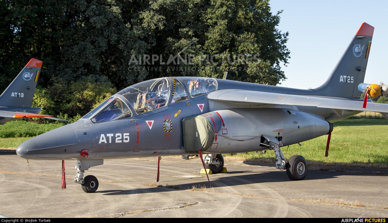 Belgium - Air Force AT25 aircraft at Ostrava Mošnov