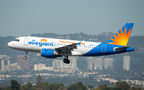 Allegiant Air Airbus A319 N311NV at Los Angeles Intl airport
