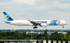 Egyptair Boeing 777-300 SU-GDR at London - Heathrow airport