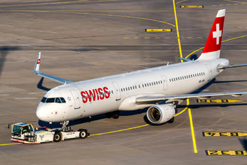 HB-ION - Swiss Airbus A321