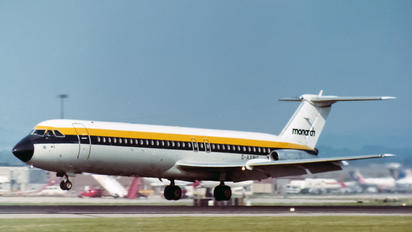 G-AXMG - Monarch Airlines BAC 111