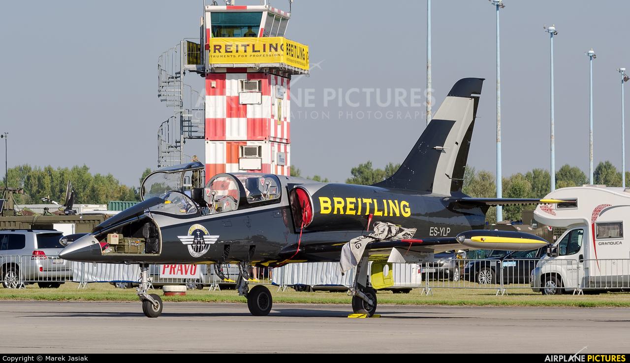 Breitling Jet Team ES-YLP aircraft at Hradec Králové