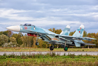 RF-33747 - Russia - Navy Sukhoi Su-27P