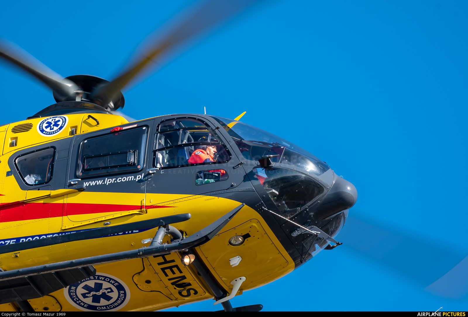 Polish Medical Air Rescue - Lotnicze Pogotowie Ratunkowe SP-HXZ aircraft at