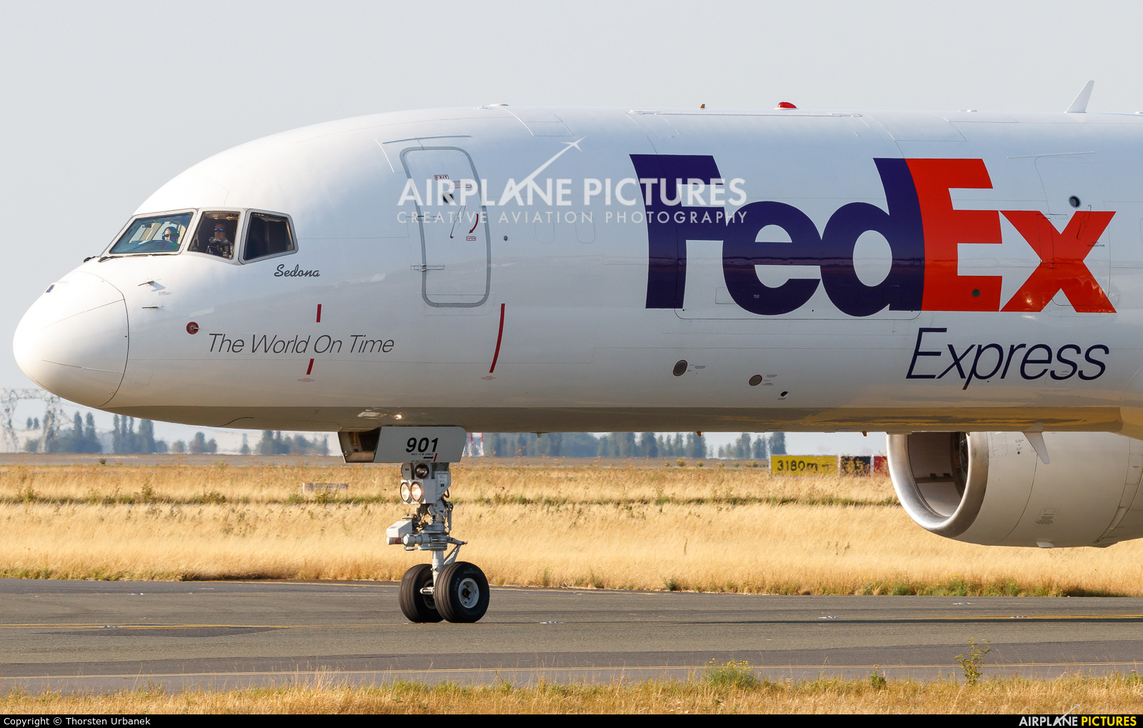 FedEx Federal Express N901FD aircraft at Paris - Charles de Gaulle