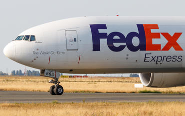 N863FD - FedEx Federal Express Boeing 777F