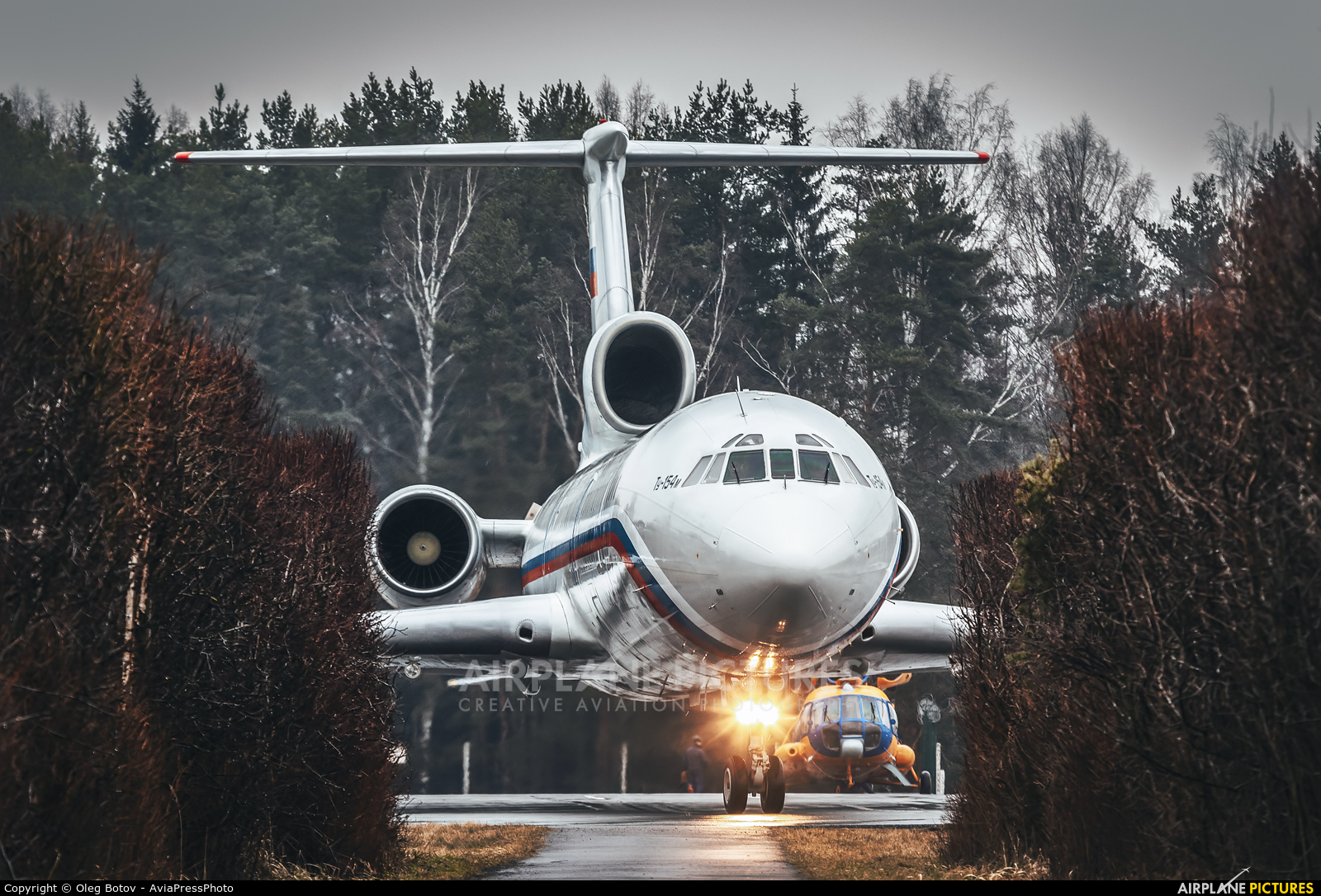 Russia - Air Force RA-85155 aircraft at Undisclosed Location