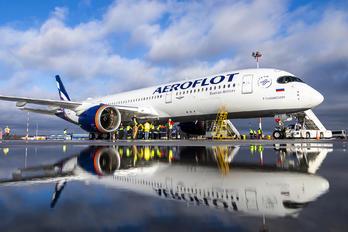 VQ-BFY - Aeroflot Airbus A350-900