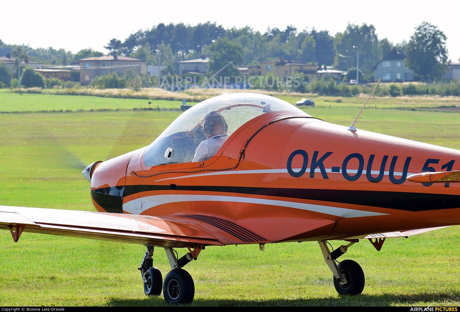 Private OK-OUU 51 aircraft at Rybnik - Gotartowice