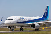 JA222A - ANA - All Nippon Airways Airbus A320 NEO aircraft