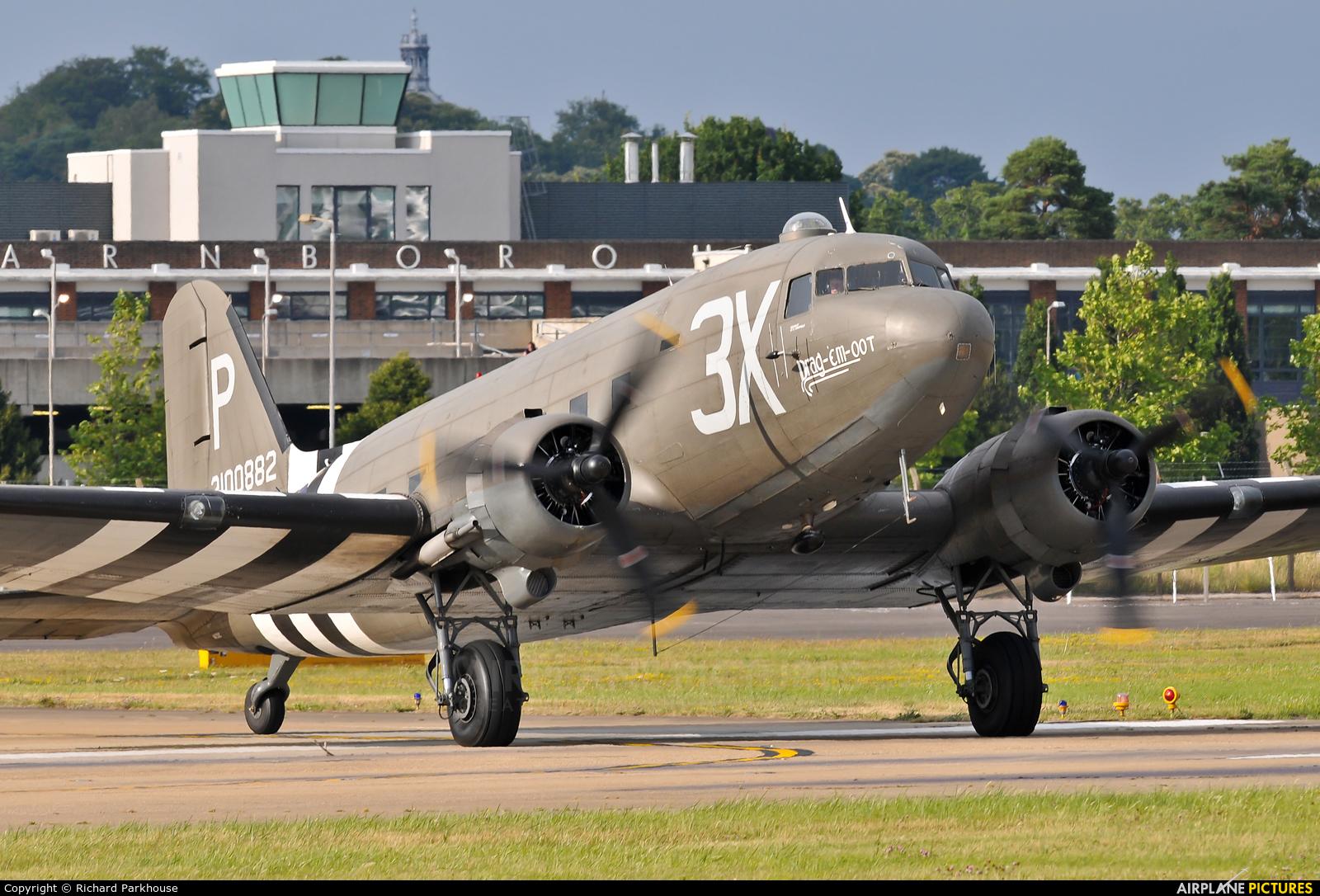Aerolegends N473DC aircraft at Farnborough