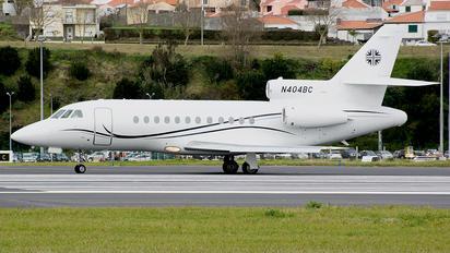 N404BC - Private Dassault Falcon 900 series