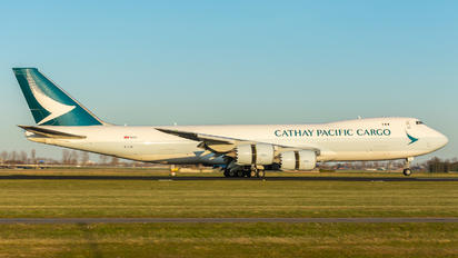 B-LJL - Cathay Pacific Cargo Boeing 747-8F