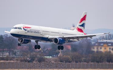 G-MEDU - British Airways Airbus A321
