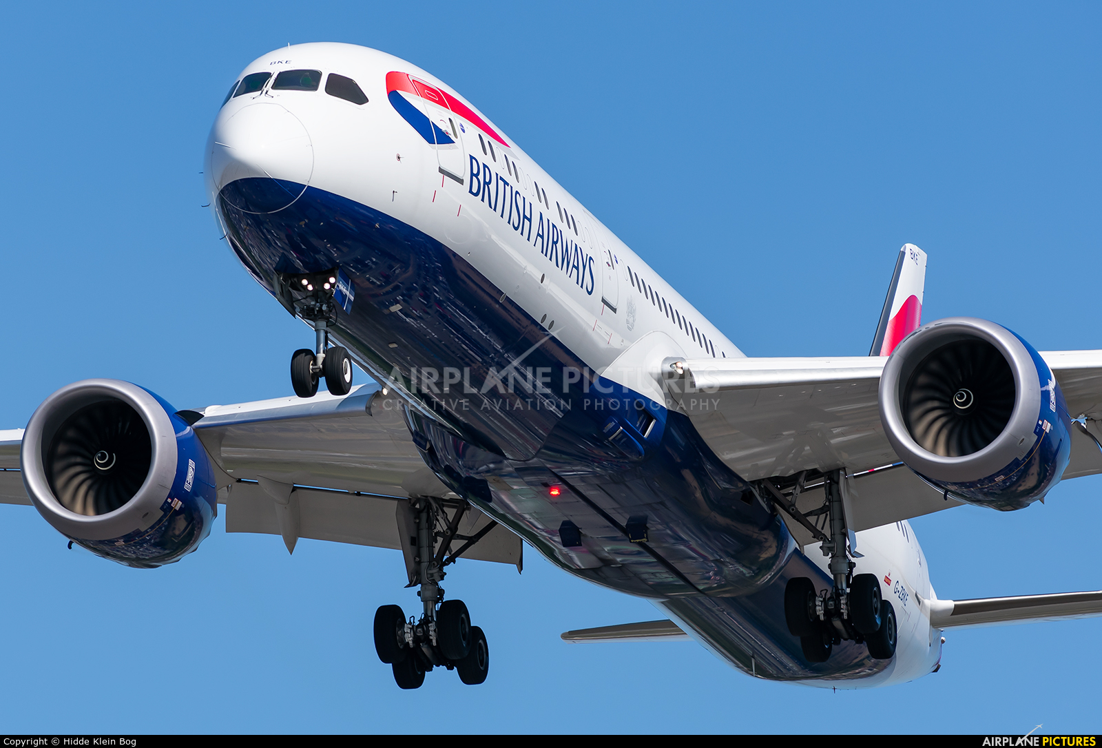 British Airways G-ZBKE aircraft at London - Heathrow
