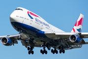 G-CIVU - British Airways Boeing 747-400 aircraft