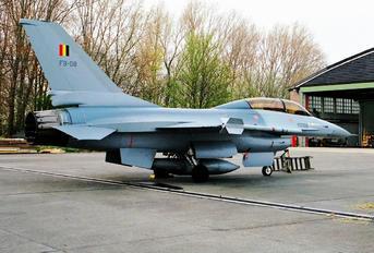 FB-08 - Belgium - Air Force General Dynamics F-16B Fighting Falcon