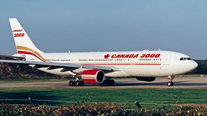 C-GGWA - Canada 3000 Airbus A330-200
