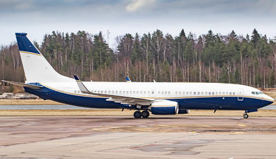 N502BJ - Private Boeing 737-800 BBJ