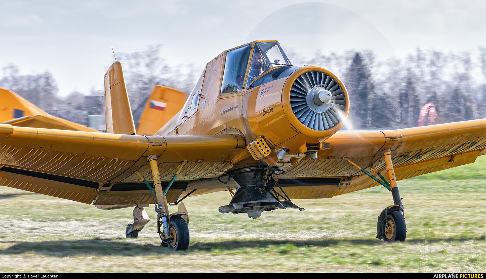 Agroair OK-DJS aircraft at Off Airport - Czech Republic
