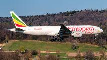 Ethiopian Cargo Boeing 777 visited Zurich title=