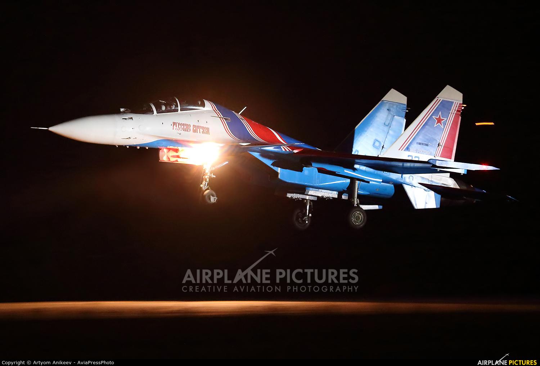 """Russia - Air Force """"Russian Knights"""" RF-81703 aircraft at Kubinka"""