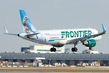 N230FR - Frontier Airlines Airbus A320