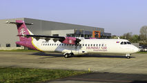 ATR 72 of Hunnu Air visited Mönchengladbach for maintenance title=
